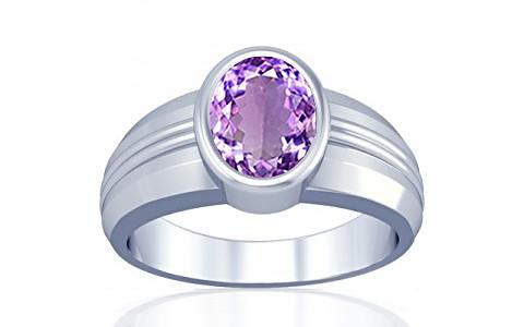 Amethyst Silver Ring (A4)