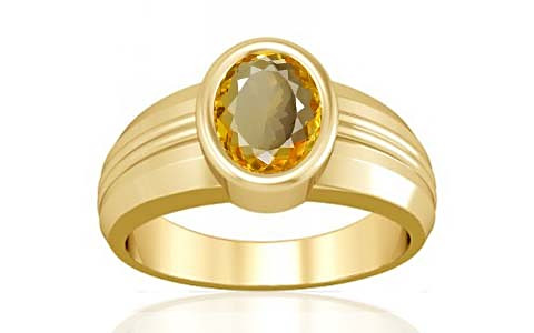 Citrine Gold Ring (A4)