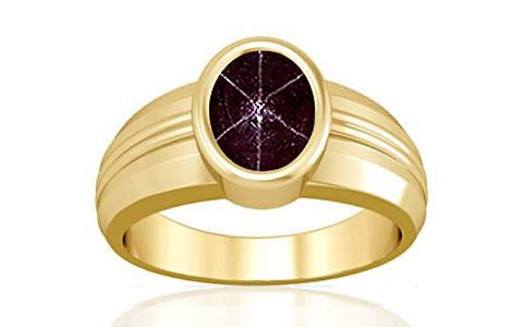 Star Ruby Gold Ring (A4)