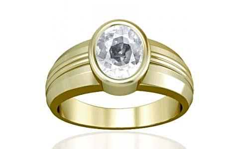 White Zircon Panchdhatu Ring (A4)