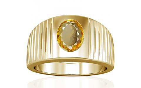 Citrine Gold Ring (A5)
