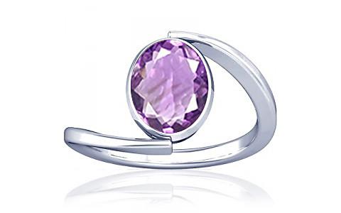 Amethyst Silver Ring (A6)