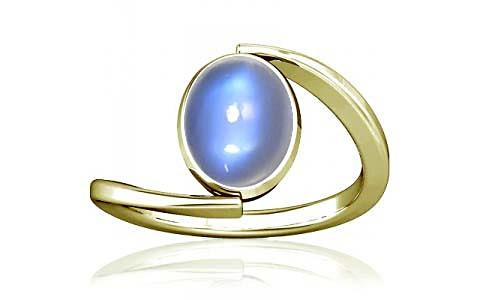 Blue Sheen Moonstone Panchdhatu Ring (A6)