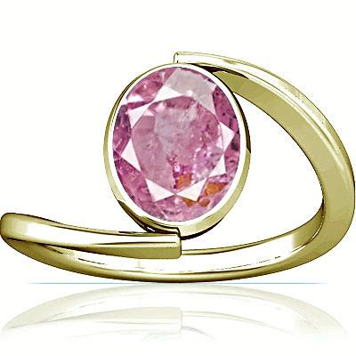 Pink Sapphire Panchdhatu Ring (A6)