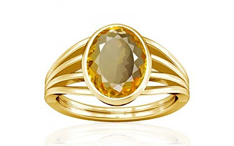 Citrine Gold Ring (A7)