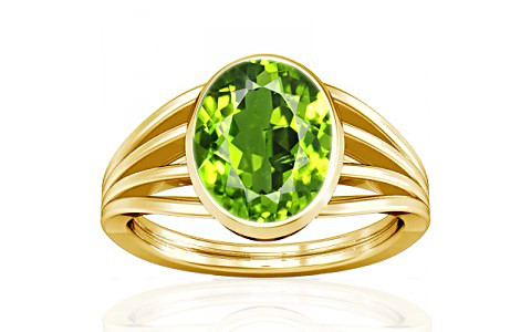 Peridot Gold Ring (A7)