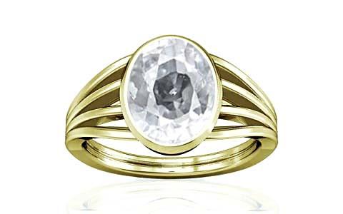 White Zircon Panchdhatu Ring (A7)