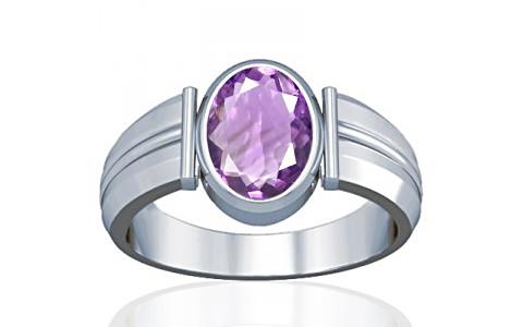 Amethyst Silver Ring (A9)