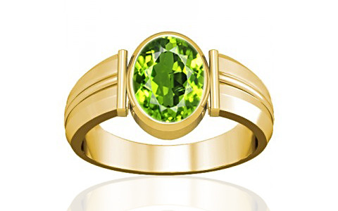 Peridot Gold Ring (A9)