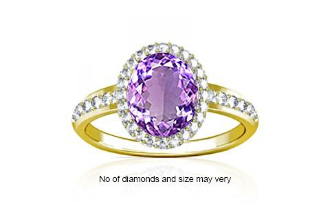 Amethyst Panchdhatu Ring (R1-Dazzle)