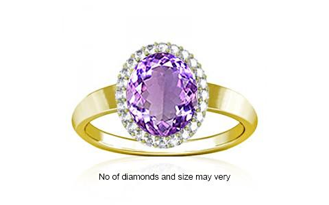 Amethyst Panchdhatu Ring (R1-Sparkle)