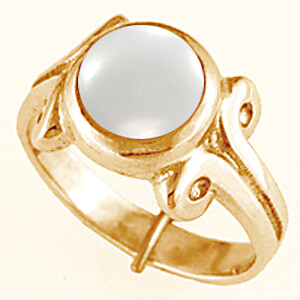 Pearl Gold Ring (AP7)