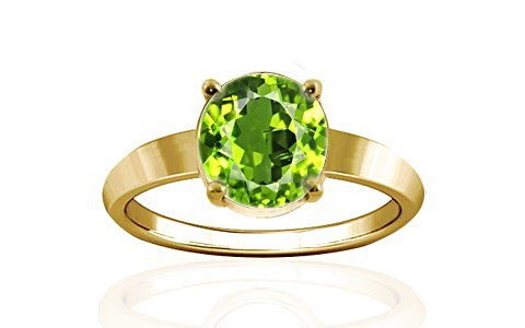 Peridot Gold Ring (A18)