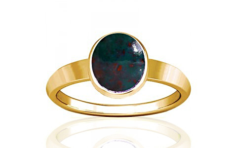 Bloodstone Gold Ring (R1)