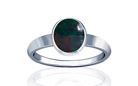 Bloodstone Sterling Silver Ring (R1)