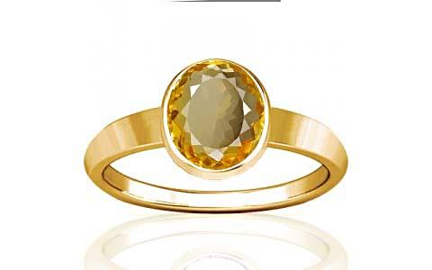 Citrine Gold Ring (R1)