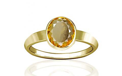 Citrine Panchdhatu Ring (R1)