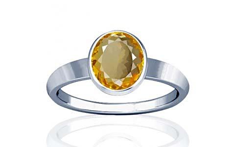 Citrine Sterling Silver Ring (R1)