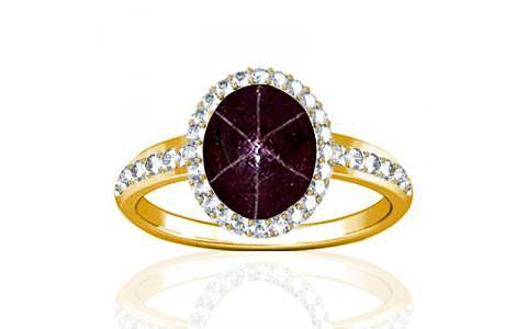 Star Ruby Gold Ring (R1-Dazzle)