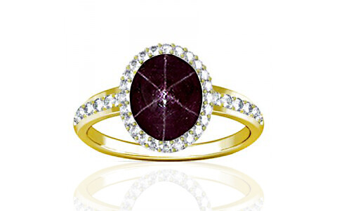 Star Ruby Panchdhatu Ring (R1-Dazzle)