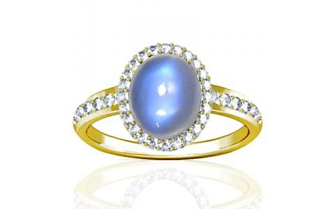 Blue Sheen Moonstone Panchdhatu Ring (R1-Dazzle)