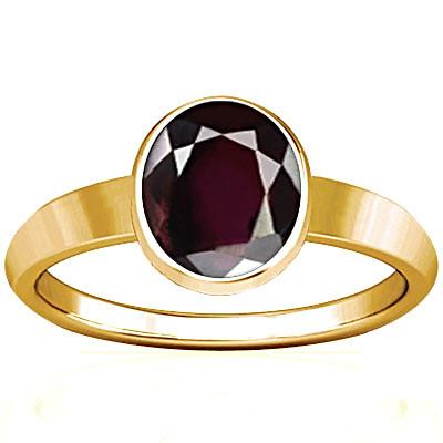 Garnet Gold Ring (R1)