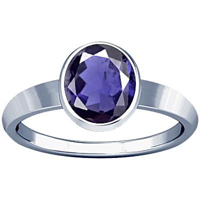 Iolite Sterling Silver Ring (R1)