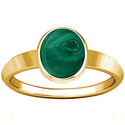 Malachite Gold Ring (R1)
