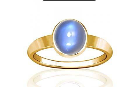 Blue Sheen Moonstone Gold Ring (R1)