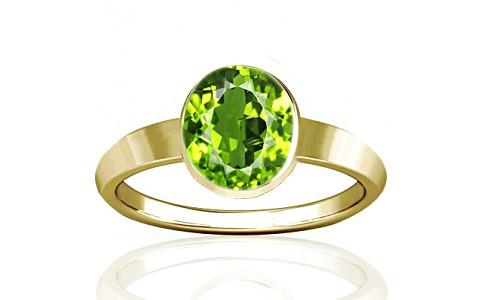 Green Amethyst Peridot Natural Green Moldavite and Pearl Ring Size 6 34