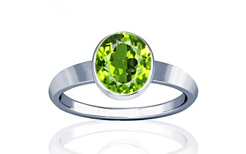 Peridot Sterling Silver Ring (R1)