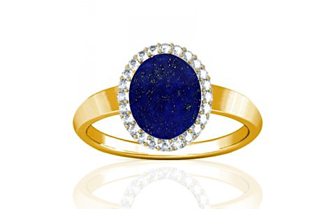 Lapis Lazuli Gold Ring (R1-Sparkle)