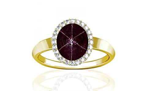 Star Ruby Panchdhatu Ring (R1-Sparkle)