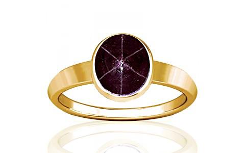 Star Ruby Gold Ring (R1)