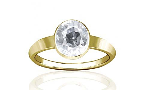 White Zircon Panchdhatu Ring (R1)