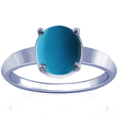 Turquoise Sterling Silver Ring (A18)