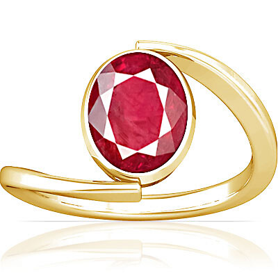 Ruby (Old Burma) Gold Ring (A6)