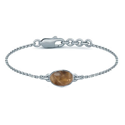 Sunstone Sterling Silver Bracelet (B2) for Women