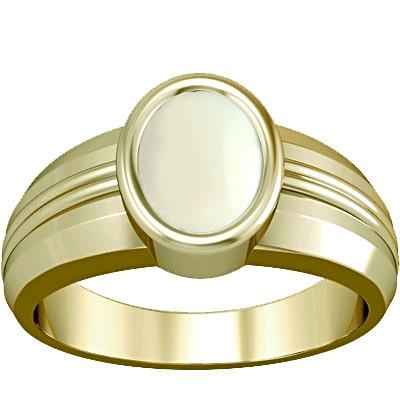 White Coral Panchdhatu Ring (A4)