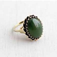 Dark-Green-Nephrite-Jade-Ring