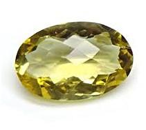 Lemon Topaz gemstone