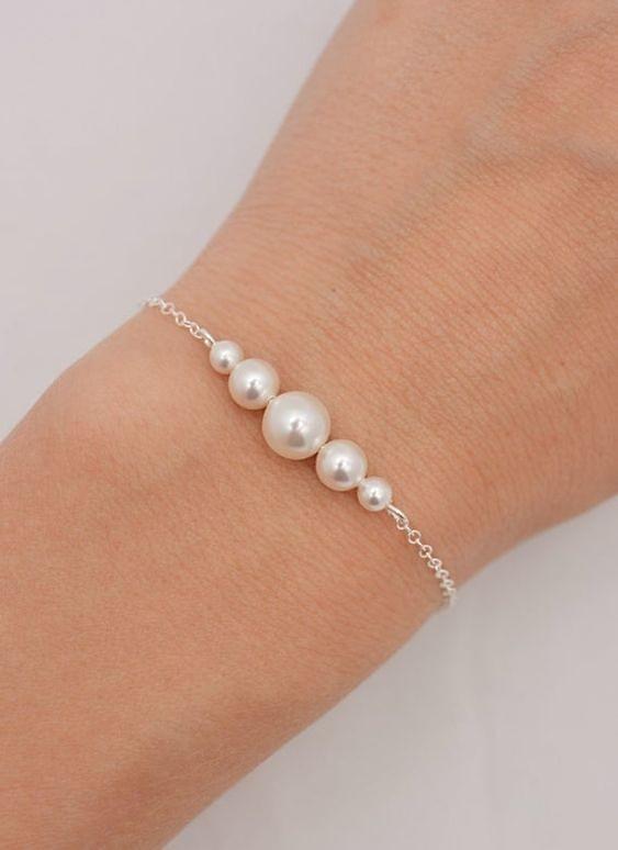 The Bracelet of the Deep Waters: Pearl Bracelet