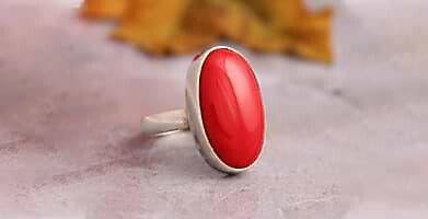 Triangle Moonga Ring