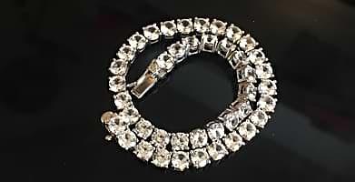 White Sapphire Bracelets