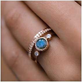 Blue Labaradorite Ring