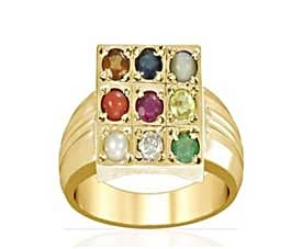 Navratna Pure Gold Ring