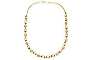 South Sea Pearl Necklace with Gold