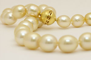 Yellow South Sea Pearls