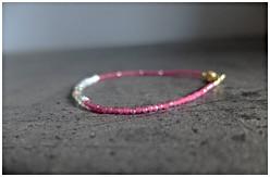 Pink Spinel Bracelets