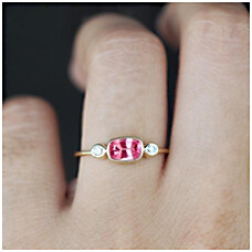 Pink Spinel Rings
